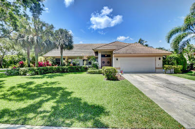 Delray Beach Single Family Home For Sale: 2900 Salerno Way