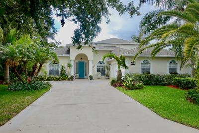 Jensen Beach Single Family Home For Sale: 2351 NW Windemere Drive