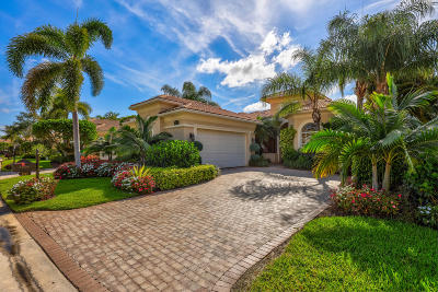 Palm Beach Gardens Single Family Home Contingent: 237 Porto Vecchio Way