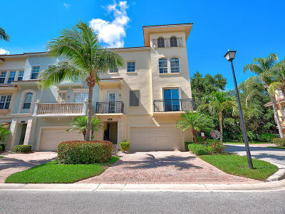 Palm Beach Gardens Townhouse For Sale: 2652 Ravella Lane