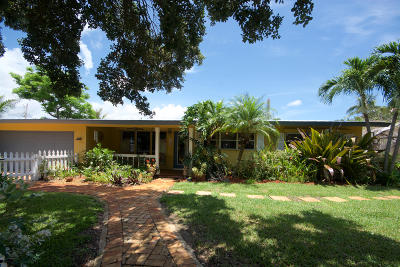 Delray Beach Single Family Home Contingent: 125 NE 17th Street