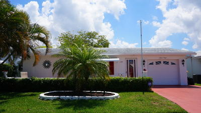 Boynton Beach Single Family Home For Sale: 1508 Alfred Drive