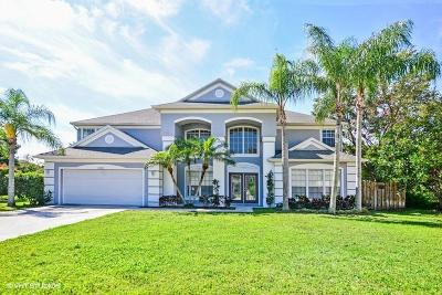 Palm City Single Family Home For Sale: 2592 SW Longboat Way
