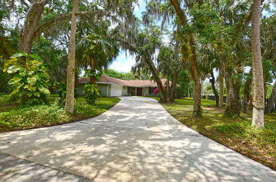 Fort Pierce Single Family Home For Sale: 3601 E Wilderness E Drive
