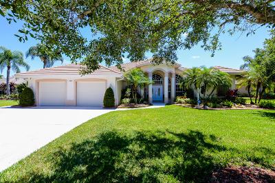 Port Saint Lucie Single Family Home For Sale: 485 SW Sanctuary Place