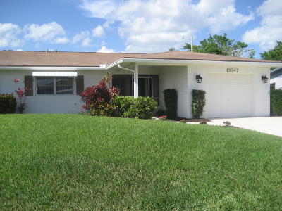 Delray Beach Single Family Home For Sale: 13547 Whippet Way E