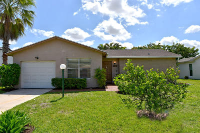 Greenacres Single Family Home For Sale: 6317 Summer Sky Lane