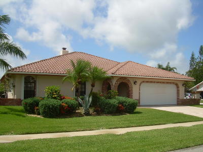 Boca Raton Single Family Home For Sale: 490 NW 72nd Street