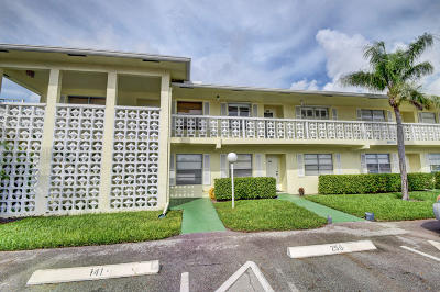 Delray Beach Condo For Sale: 1395 SW 27th Avenue #202