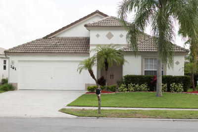 Royal Palm Beach Single Family Home Contingent: 121 Derby Lane