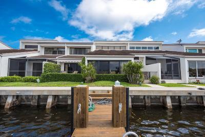 Ocean Ridge Townhouse For Sale: 6110 Ocean Boulevard #6