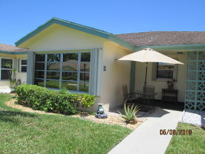 Delray Beach Single Family Home For Sale: 5313 Lakefront Boulevard #C