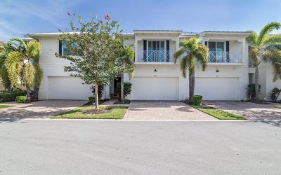Palm Beach Gardens Townhouse For Sale: 5268 Cambridge Court