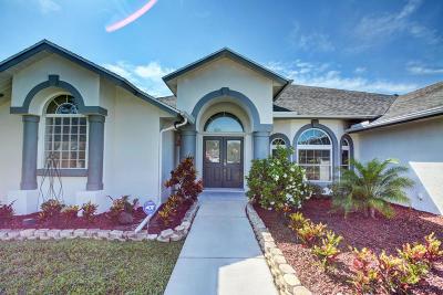 Port Saint Lucie Single Family Home For Sale: 2086 SW Bird Avenue