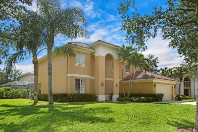 Jupiter Single Family Home Contingent: 511 Preserve Point S
