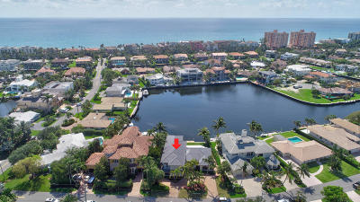 Highland Beach Single Family Home For Sale: 4313 Intracoastal Drive