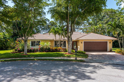 Boca Raton Single Family Home For Sale: 3360 NW 24th Way