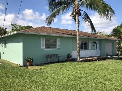 Delray Beach Single Family Home For Sale: 4454 Brandon Drive