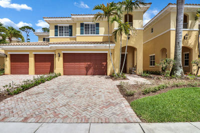 Palm Beach Gardens Townhouse For Sale: 350 Chambord Terrace