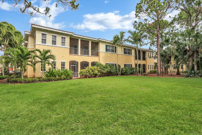 Palm Beach Gardens Townhouse For Sale: 349 Chambord Terrace