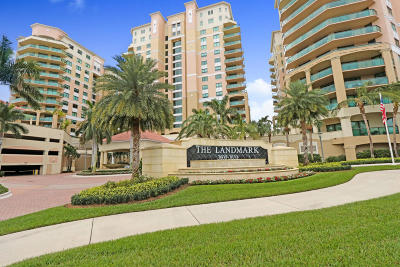 Palm Beach Gardens Condo For Sale: 3610 Gardens Parkway #102a