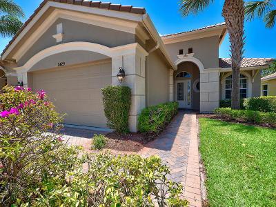 Port Saint Lucie Single Family Home For Sale: 7429 Bob O Link Way