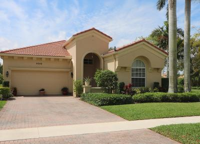 Wellington Single Family Home For Sale: 9288 Via Elegante