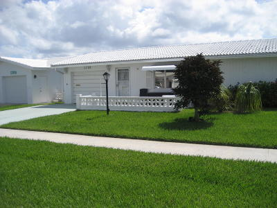 Boynton Beach Single Family Home For Sale: 1710 SW 22nd Street
