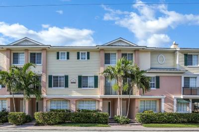 Delray Beach Townhouse For Sale: 240 NE 2nd Street #6-E