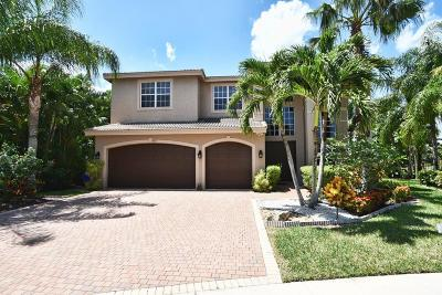 Delray Beach Single Family Home For Sale: 15611 Messina Isles Court
