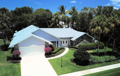 Palm Beach Gardens Single Family Home For Sale: 2425 Palm Harbor