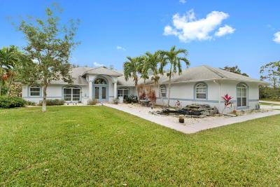 Port Saint Lucie Single Family Home For Sale: 2022 SE Tickridge Road
