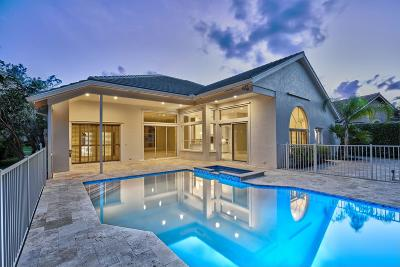 Palm Beach Gardens Single Family Home For Sale: 38 Cayman Place