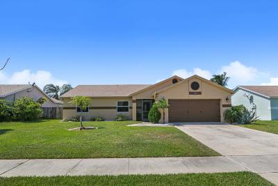 Boynton Beach Single Family Home For Sale: 38 Cedar Circle