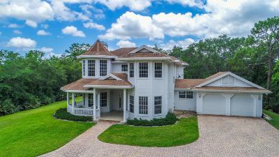 Jupiter Single Family Home For Sale: 1001 SE Ranch Road