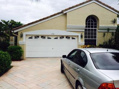 Lake Worth Single Family Home For Sale: 4738 Carlton Golf Drive