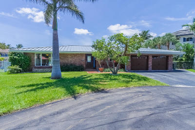 Boca Raton Single Family Home Contingent: 2900 NE 7th Drive