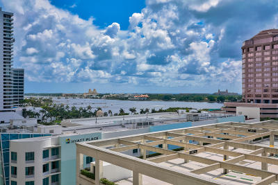 West Palm Beach Condo For Sale: 801 S Olive Avenue #808