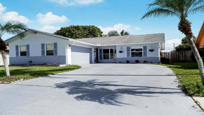 Lake Worth Single Family Home For Sale: 6060 Serene Run