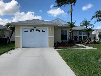 Fort Pierce Single Family Home For Sale: 6050 Petticoat Place