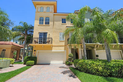 Palm Beach Gardens Townhouse For Sale: 2499 San Pietro Circle