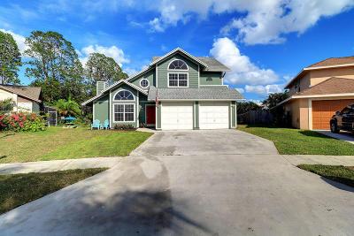 Boynton Beach Single Family Home For Sale: 10811 Cambay Circle