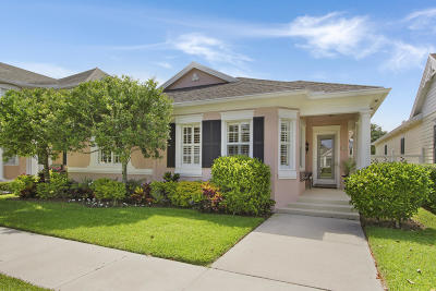 Jupiter Single Family Home Contingent: 219 Sugar Apple Way