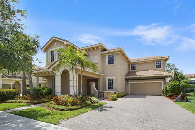 Jupiter Single Family Home For Sale: 107 Via Azurra