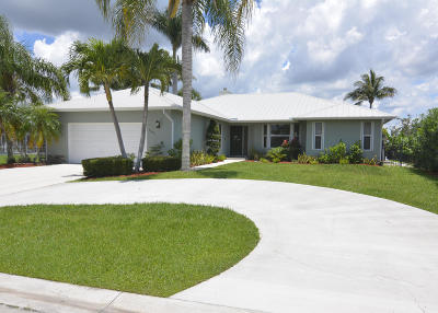 Palm City Single Family Home For Sale: 1703 SW Boatswain Place