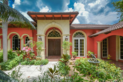 Lake Worth Single Family Home For Sale: 1306 S Lakeside Drive