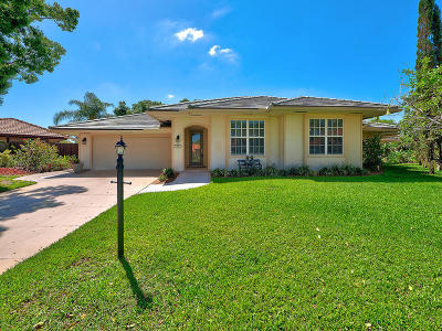 Palm Beach Gardens Single Family Home For Sale: 1053 Shady Lakes Circle S