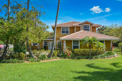 Tequesta Single Family Home For Sale: 18341 SE Ridgeview Court