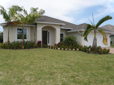 Port Saint Lucie Single Family Home For Sale: 292 SW Vista Lake Drive