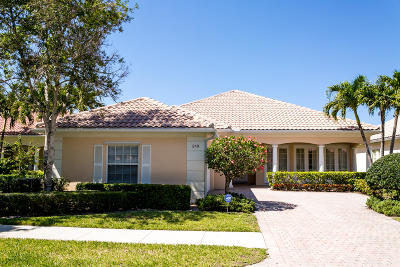Palm Beach Gardens Single Family Home For Sale: 219 Danube Way